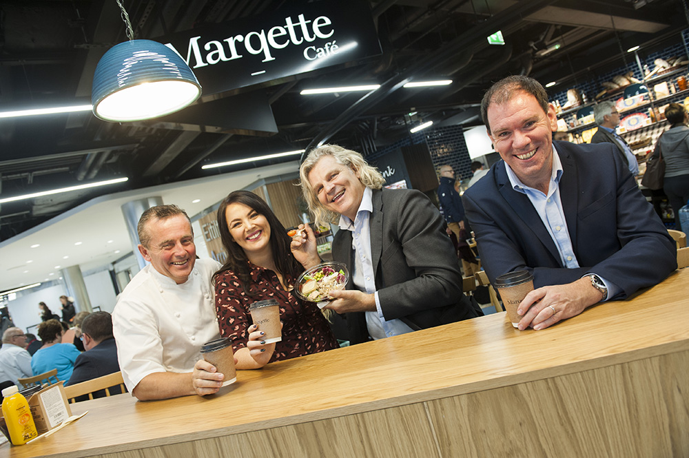 Marqette Cafe Launch Arrivals