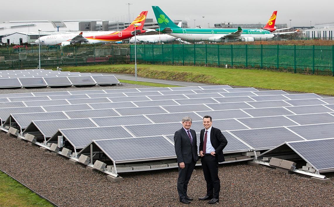 New Solar Farm Opened At Dublin Airport