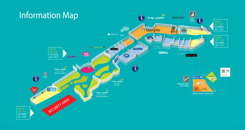 Maps | Navigate your way around Dublin Airport