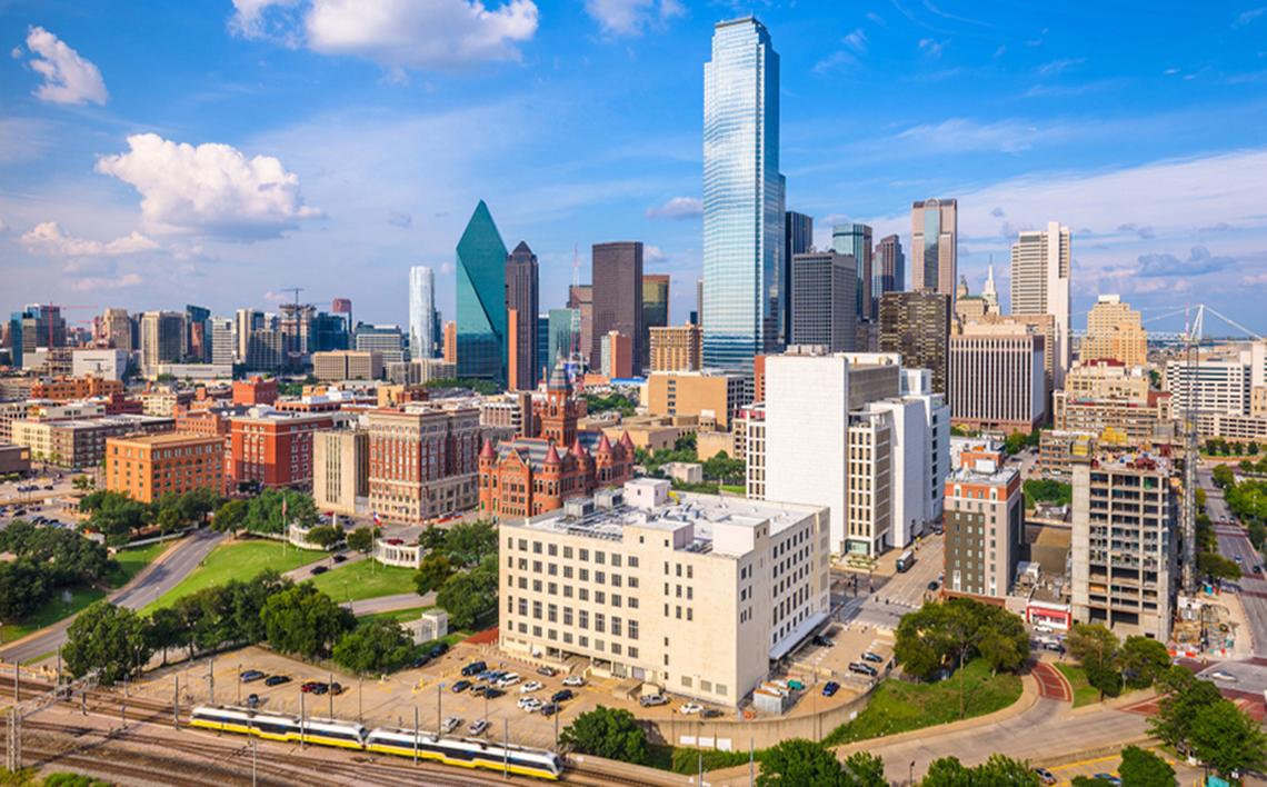 Dallas city shot
