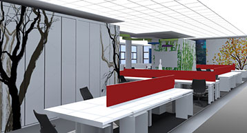 Office layout Dublin Airport