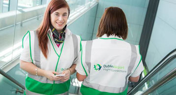 Dublin Airport female staff members