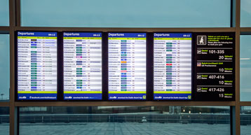 Flight Information Display Board