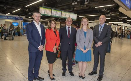 SESAR delegation at Dublin Airport