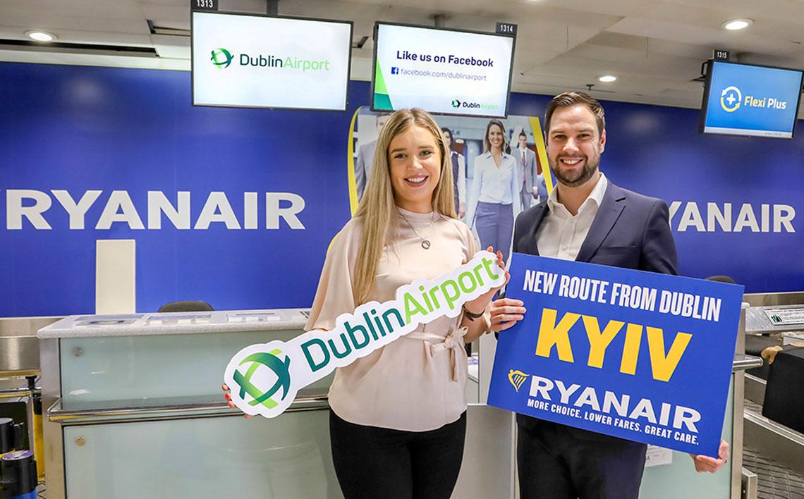 Ryanair Kyiv Launch