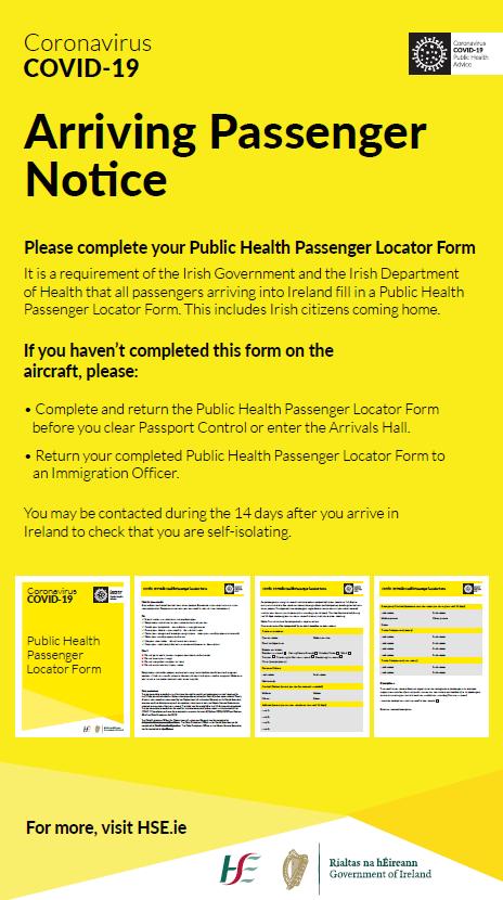Public Health Passenger Locator Form