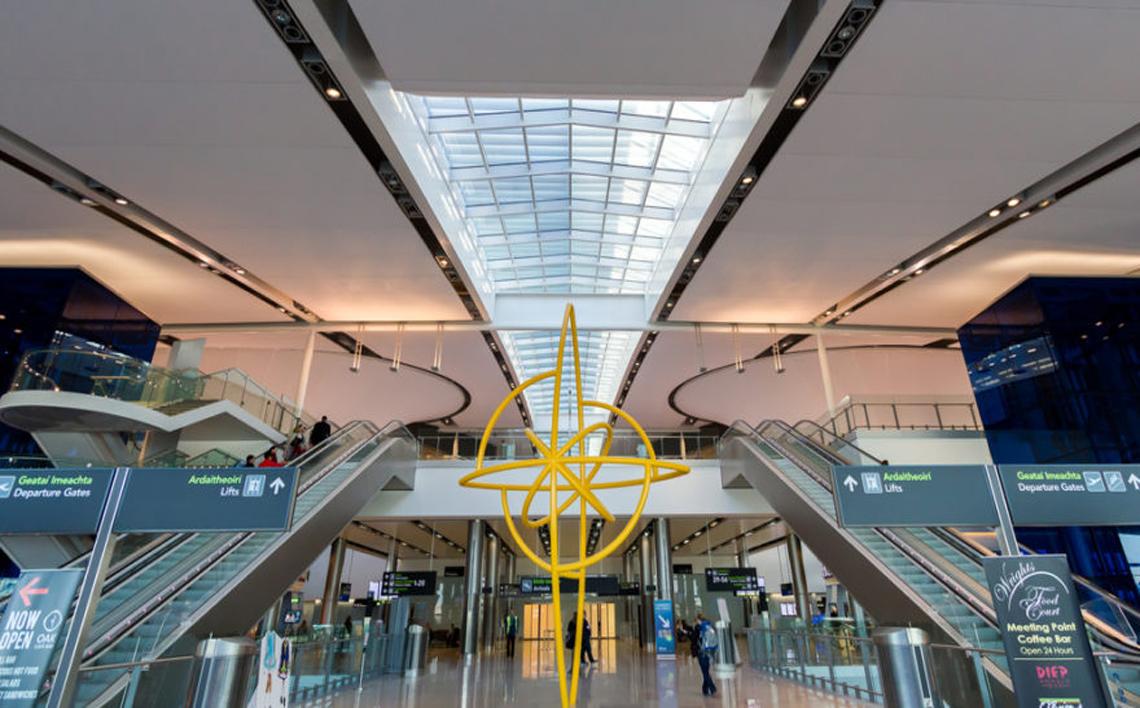 Dublin Airport Interior