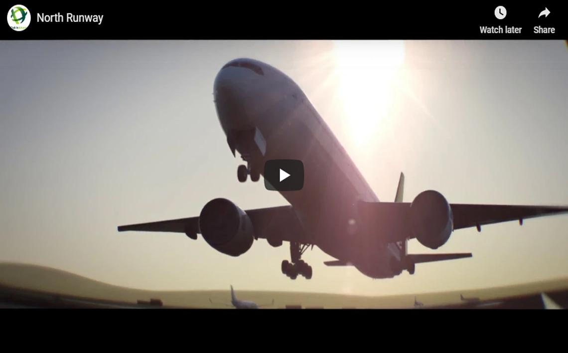 north runway video clip
